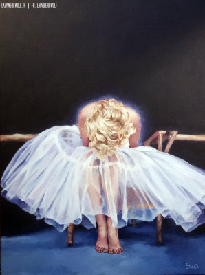 Marilyn Monroe - commission. Acrylics on canvas.